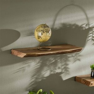 Max Wonen Boomstam wandplank | Edge | 60cm