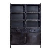 Eleonora - Vitrinekast industrieel 125x180