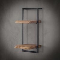 Wandplank Edge | Twee planken  | 65 cm