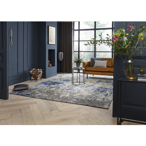 Karpi Vloerkleed Rousseau blauw