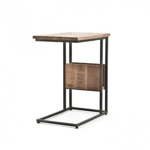 By-Boo Slider & laptoptafel | Mangohout & staal