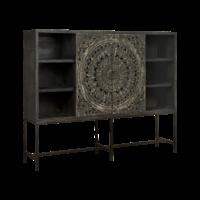 Kabinet Casina | Metaal & hout | 200 cm