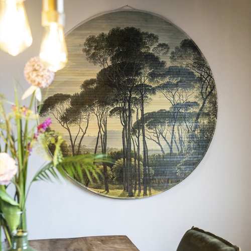By-Boo Morita Jungle | Wanddecoratie bamboe  | Large 120 cm