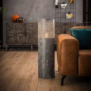 Metalen vloerlamp   Newcastle 90 cm