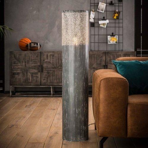 Metalen vloerlamp   Newcastle 120 cm