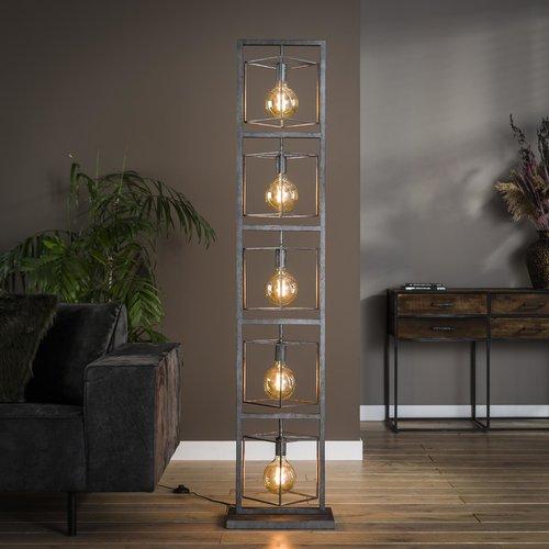Metalen vloerlamp | Bowdon 5L