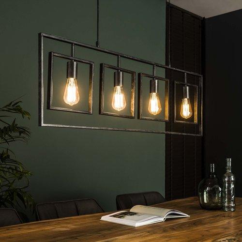 Metalen hanglamp | Flint 4L