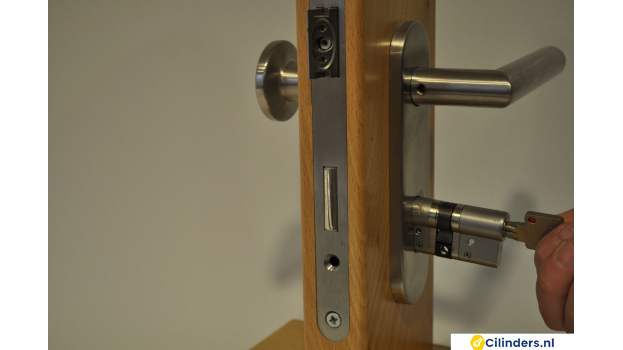 Cilinder of Cilinderslot vervangen - stappenplan -stap 4
