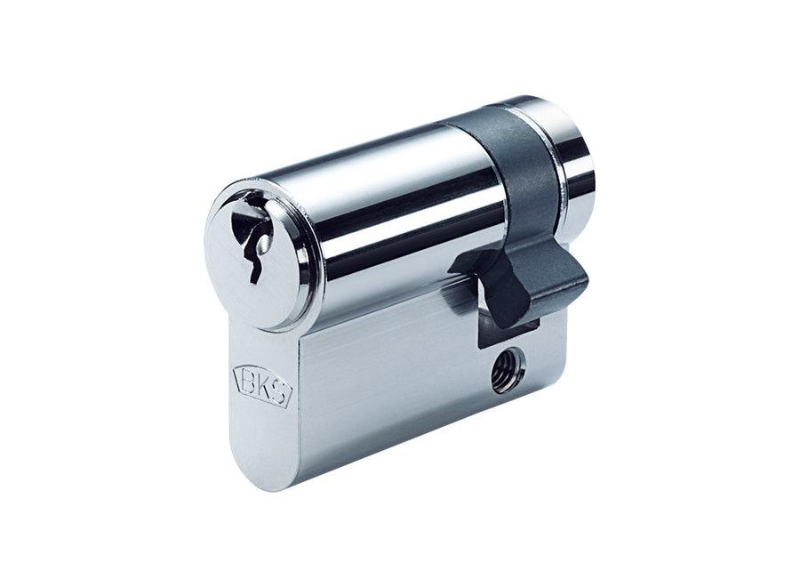Halve Cilinder SKG 2 ** op sleutelnummer - PZ88