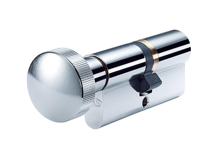Knopcilinder SKG 2 ** op sleutelnummer