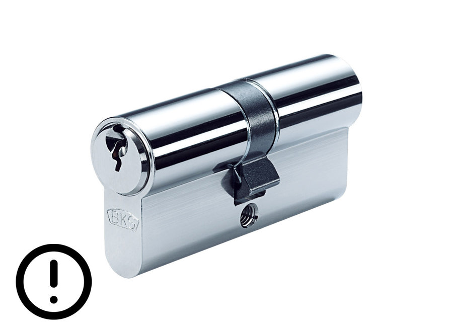 Dubbele cilinder PZ88  SKG 2 ** enkelsluitend met gevarenfunctie