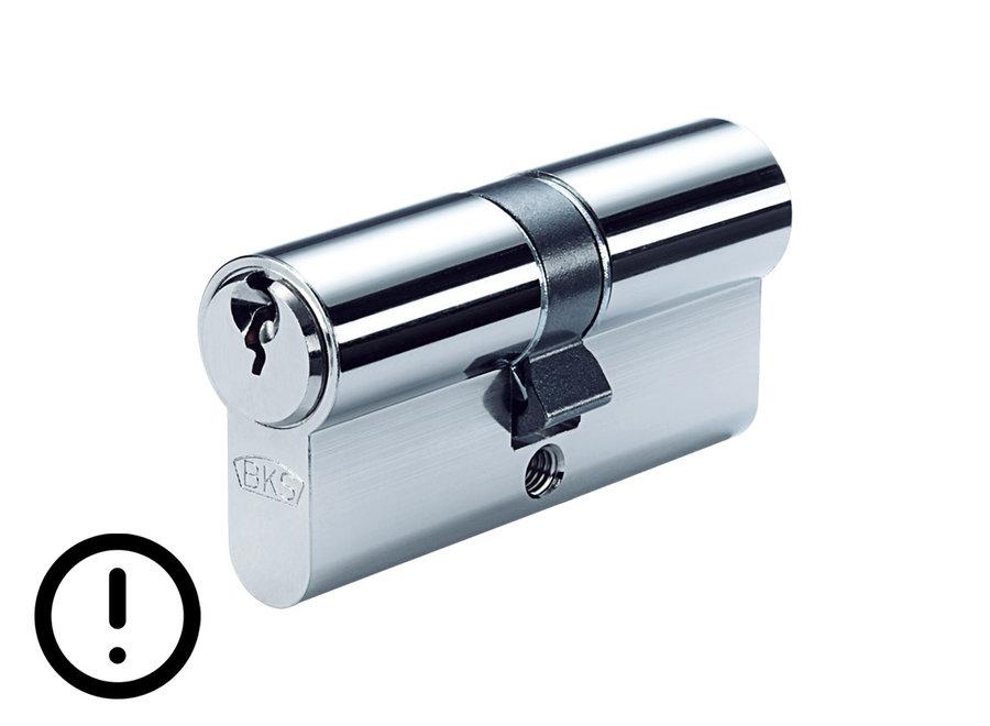 Cilinderslot SKG 2 ** met gevarenfunctie op sleutelnummer