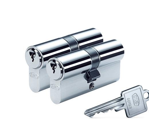 Cilinders of Cilindersloten op BKS of  ABUS sleutelnummer