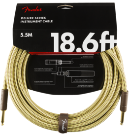 Fender Fender Deluxe 18,6' inst cable tweed