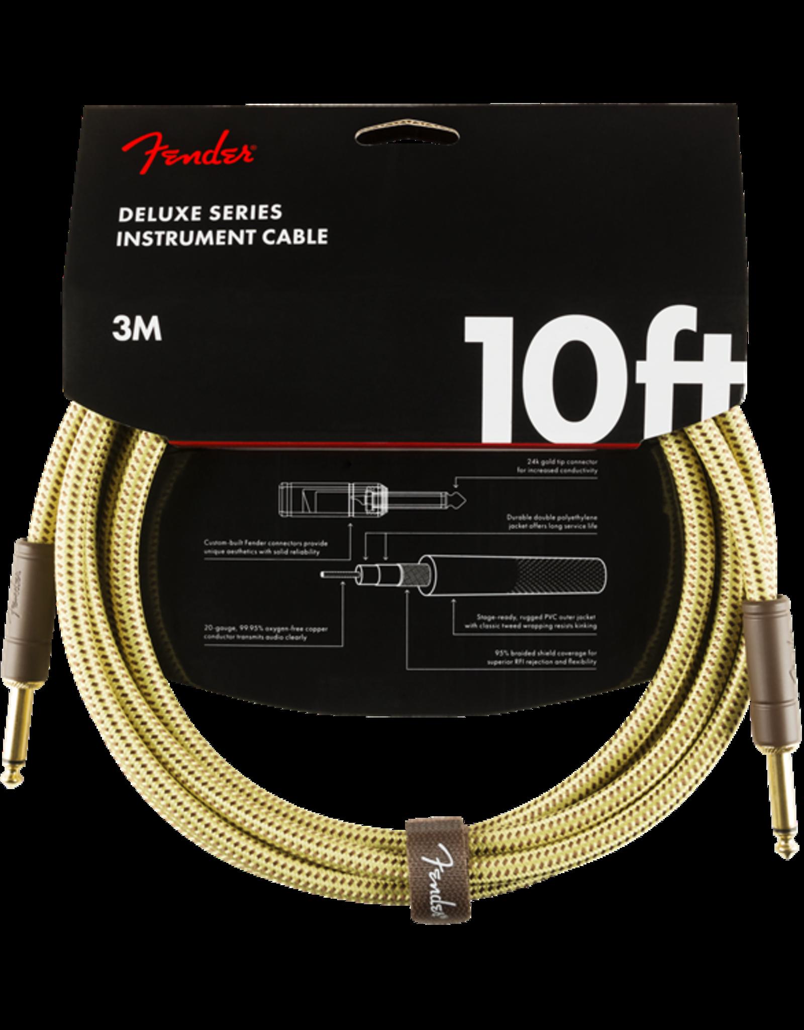 Fender Fender Deluxe 10' inst cable tweed