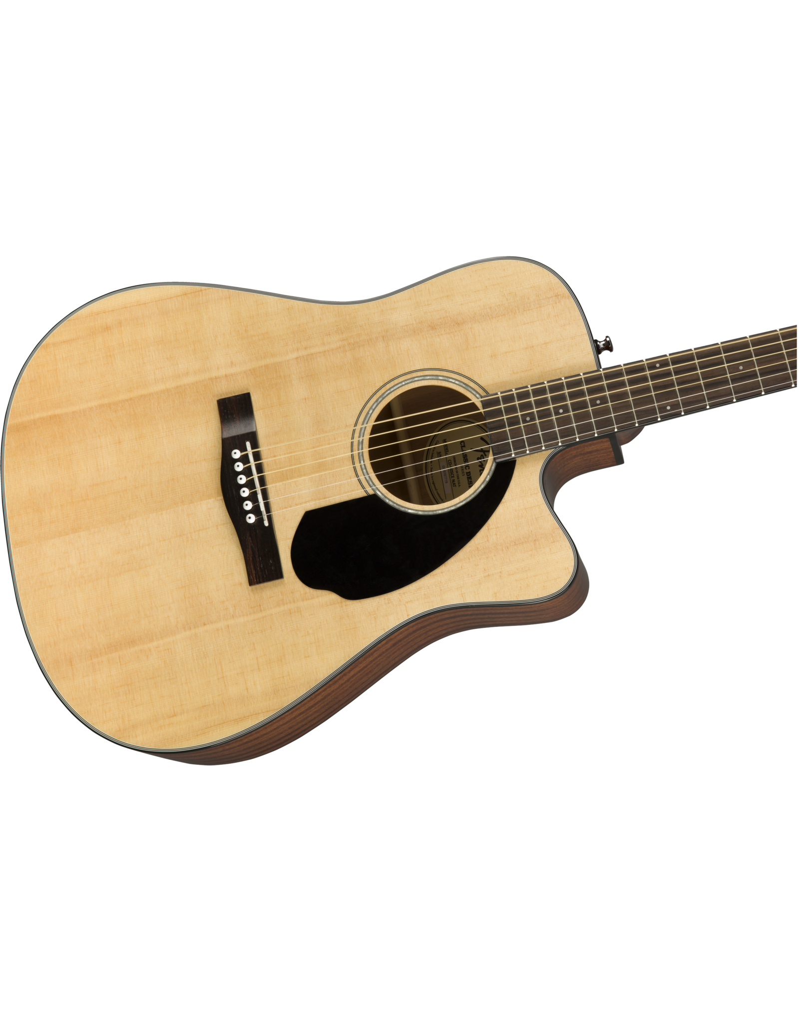 Fender Fender CD-60SCE Dread, Nat WN