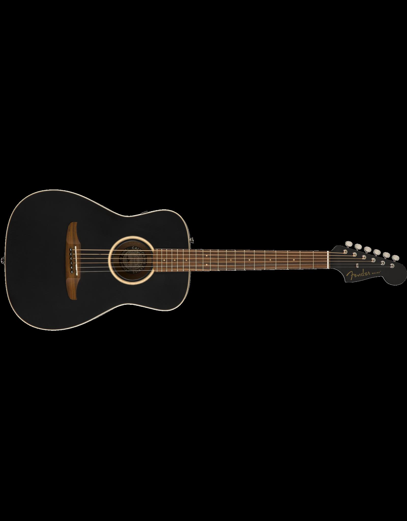 Fender Fender Malibu Spec, Matte BK w/bag PF