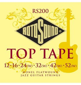 Rotosound RS200 Rotosound flatwound 12-52