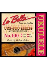 La Bella L-100 La Bella Uke-Pro Series string set concert/tenor ukulele, rectified nylon