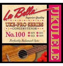 La Bella L-100 La Bella string set concert/tenor ukulele