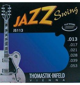 Thomastik Thomastik JS113 Flatwound 13-53
