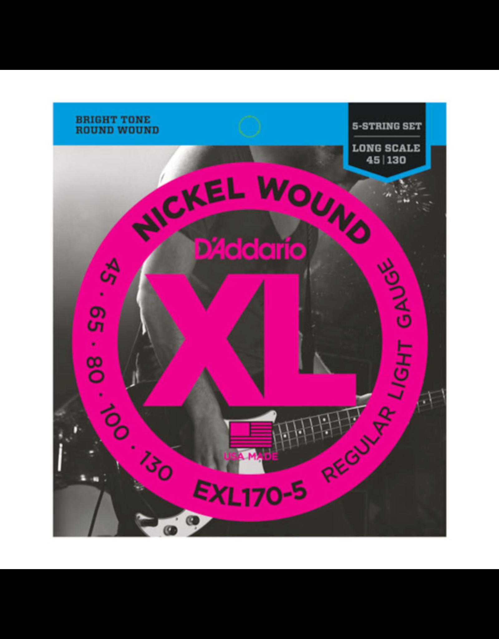 D'Addario D'Addario EXL170-5 45-130