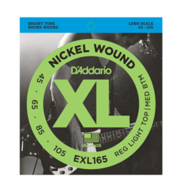 D'Addario D'Addario EXL165 45-105