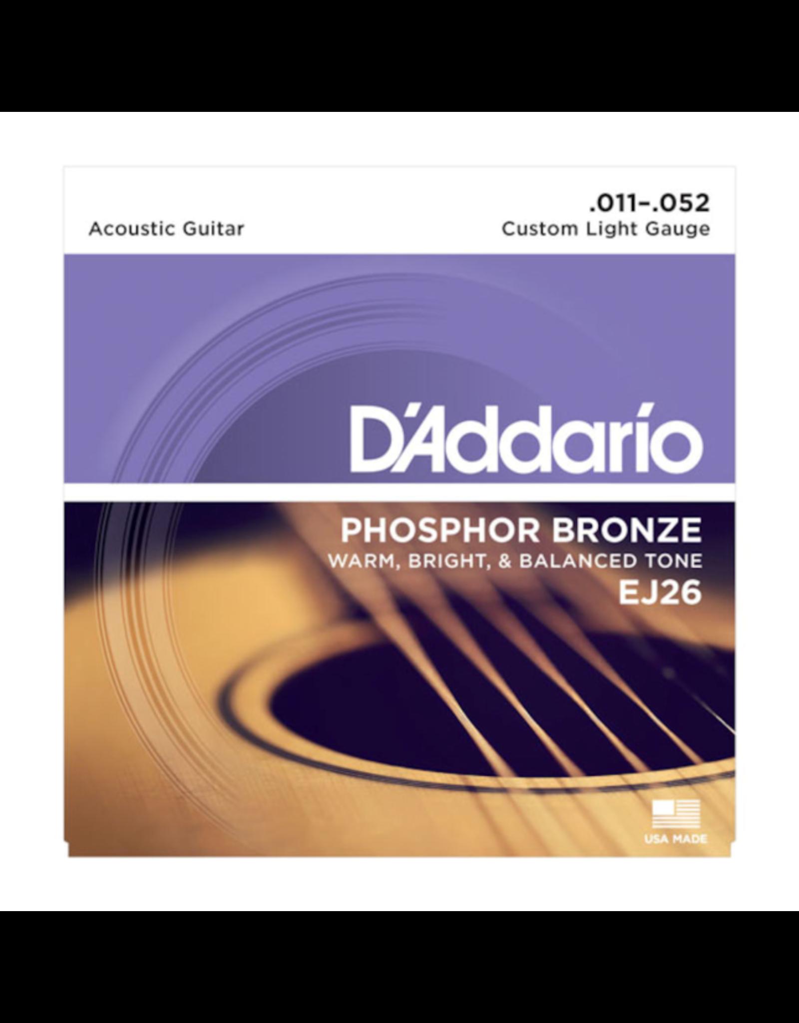 D'Addario D'Addario EJ26 11-52 phosp bronze