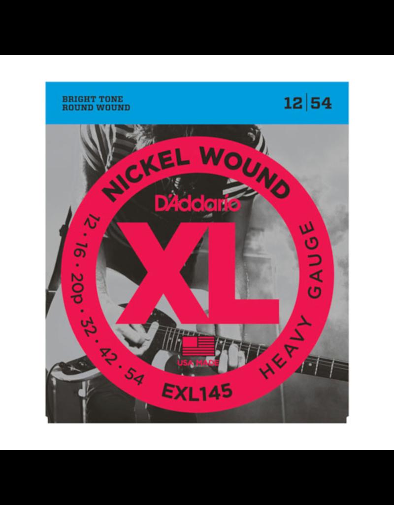 D'Addario D'Addario EXL145 12-54 plain G