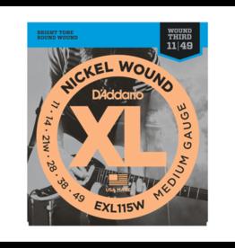 D'Addario D'Addario EXL115W 11-49 wound G