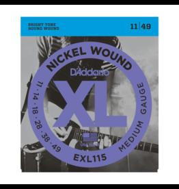 D'Addario D'Addario EXL115-3D 3pack 11-49
