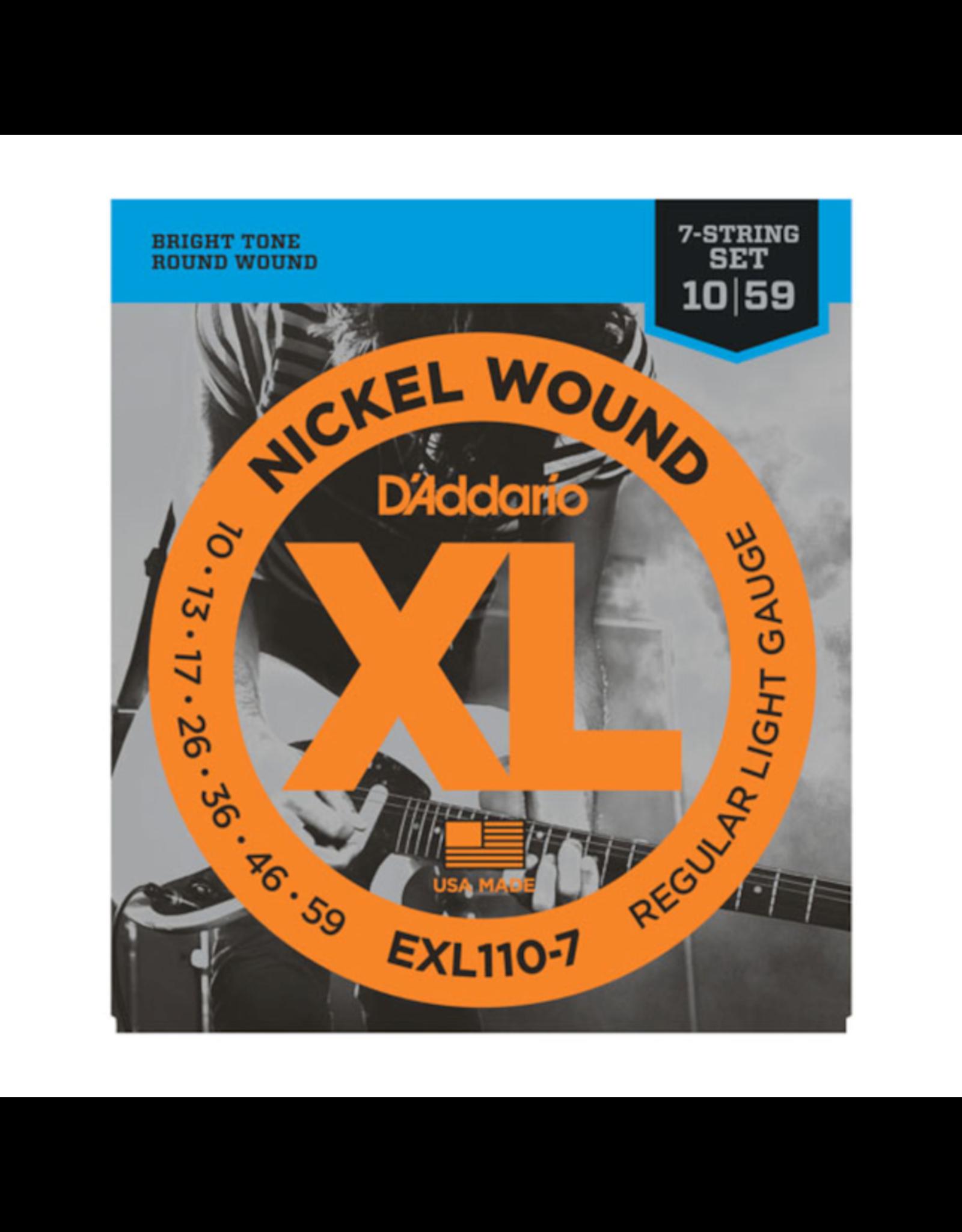 D'Addario D'Addario EXL110-7 7string 0.10