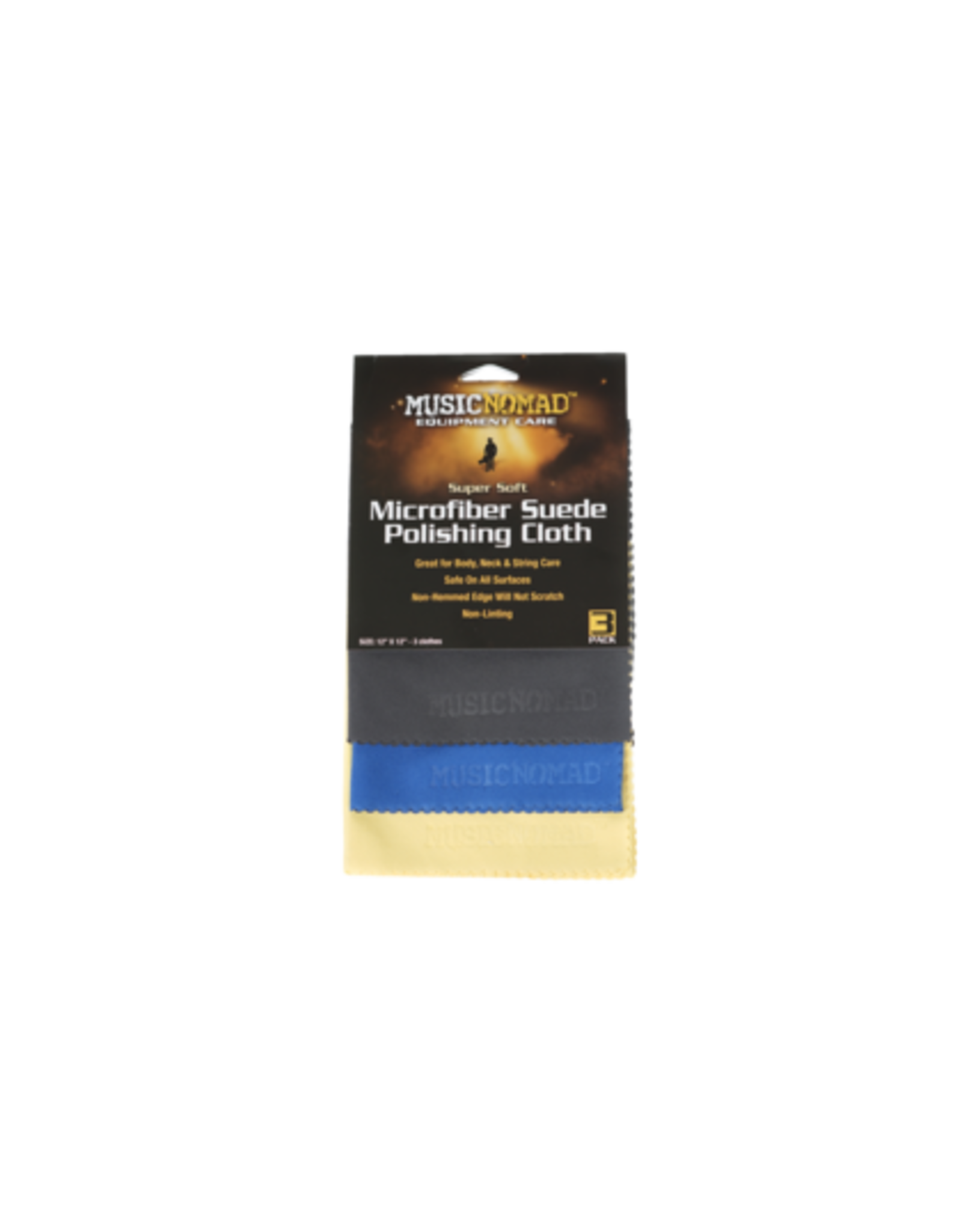 Nomad Nomad Mn103 Micro Polish Cloth 3pack