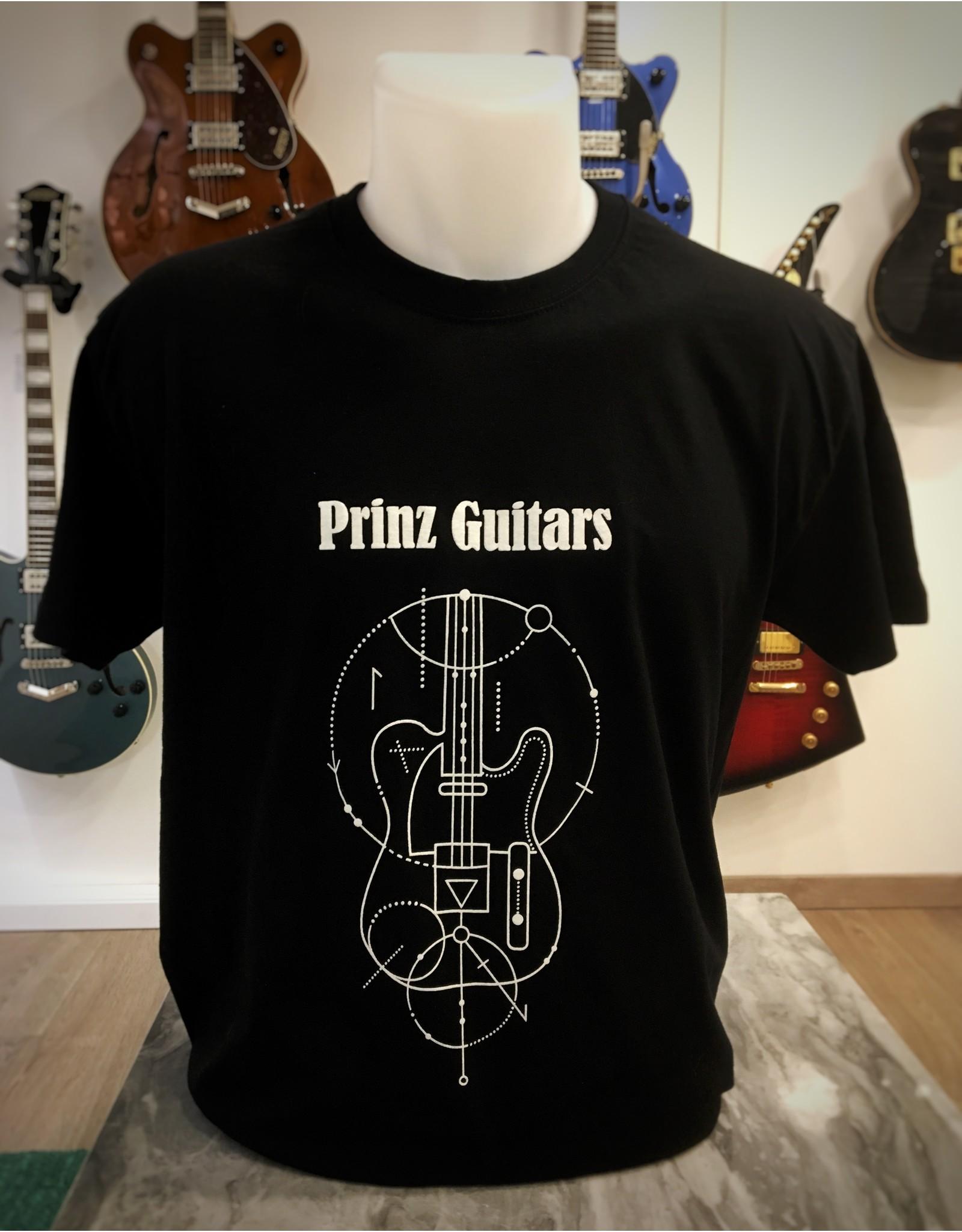Prinz Guitars Shirt T-shirt Prinz Guitars M