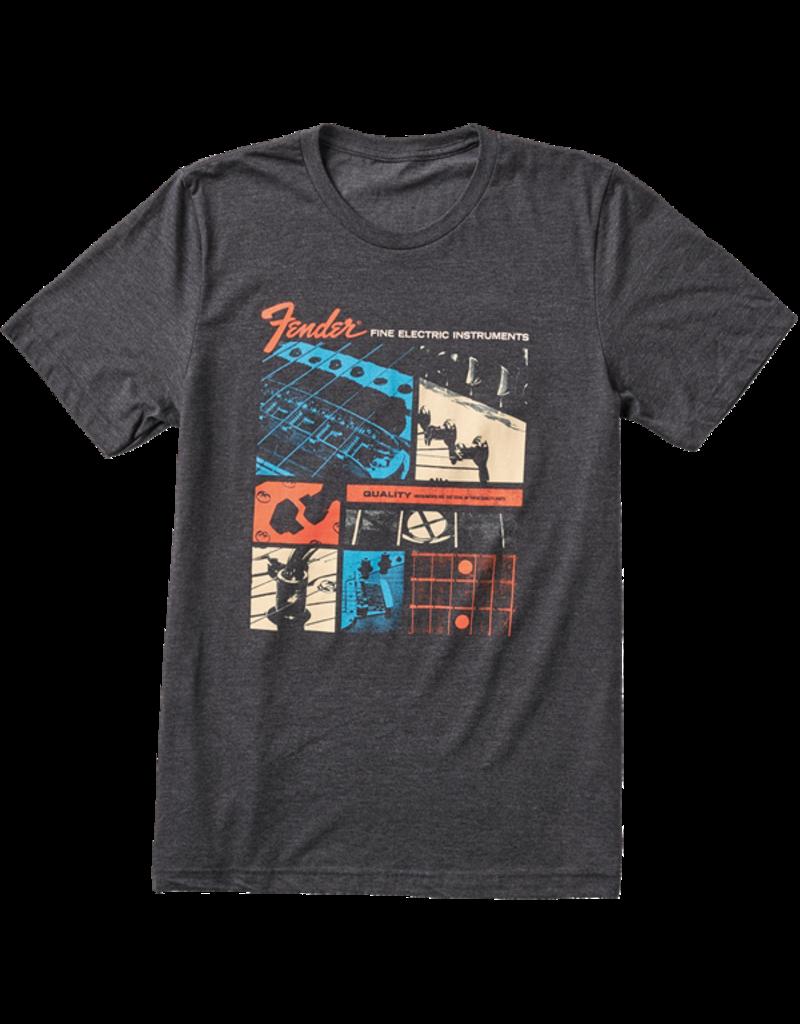 Fender Fender Jaguar T-shirt Dark Grey L