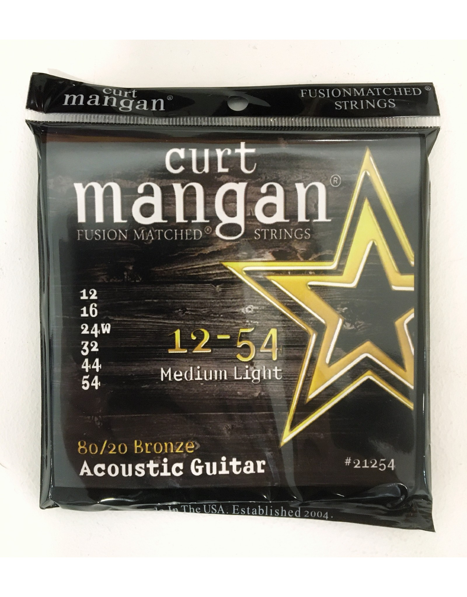 Curt Mangan Curt Mangan 80/20 Bronze 12-54 21254