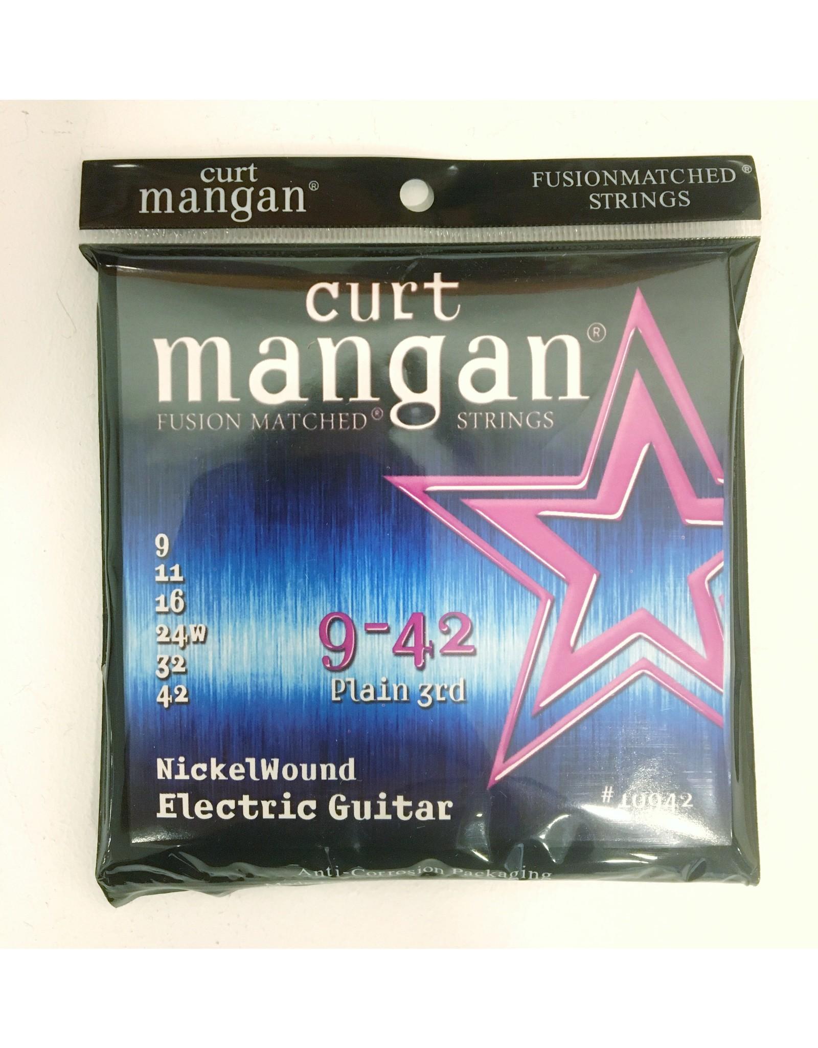 Curt Mangan Curt Mangan Nickel Wound 9-42 10942