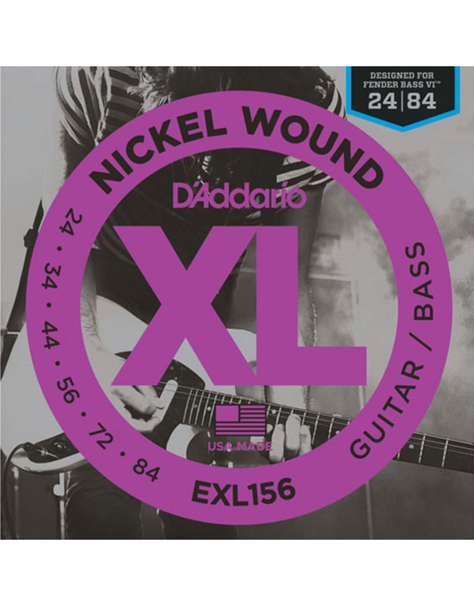 D'Addario D'addario EXL156 Bass VI snaren