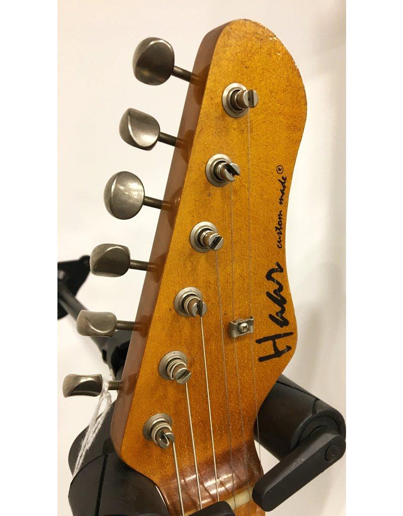 Haar Guitars Haar Traditional S Seafoam Green Maple neck