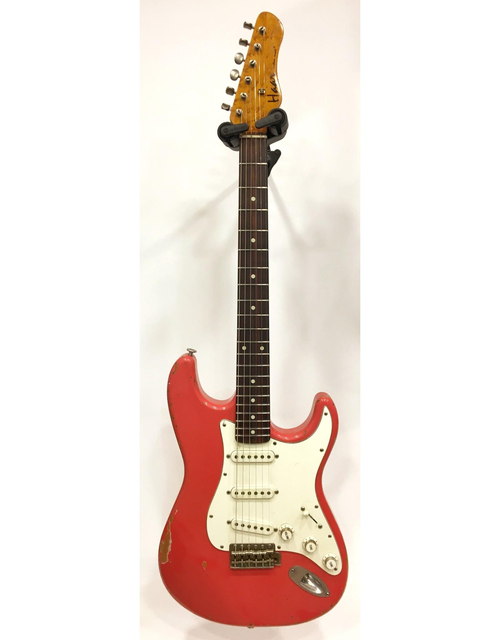 Haar Guitars Haar Traditional S Fiesta Red Rosewood Neck