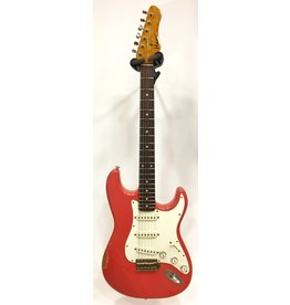 Haar Guitars Haar Traditional S Fiesta Red Rosewood Neck