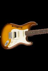 Fender Rarities Stratocaster Thinline HSS, Solid Rosewood Neck, Violin Burst