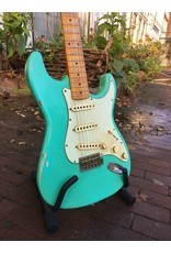 Haar Guitars Haar Traditional S Seafoam Green Maple neck