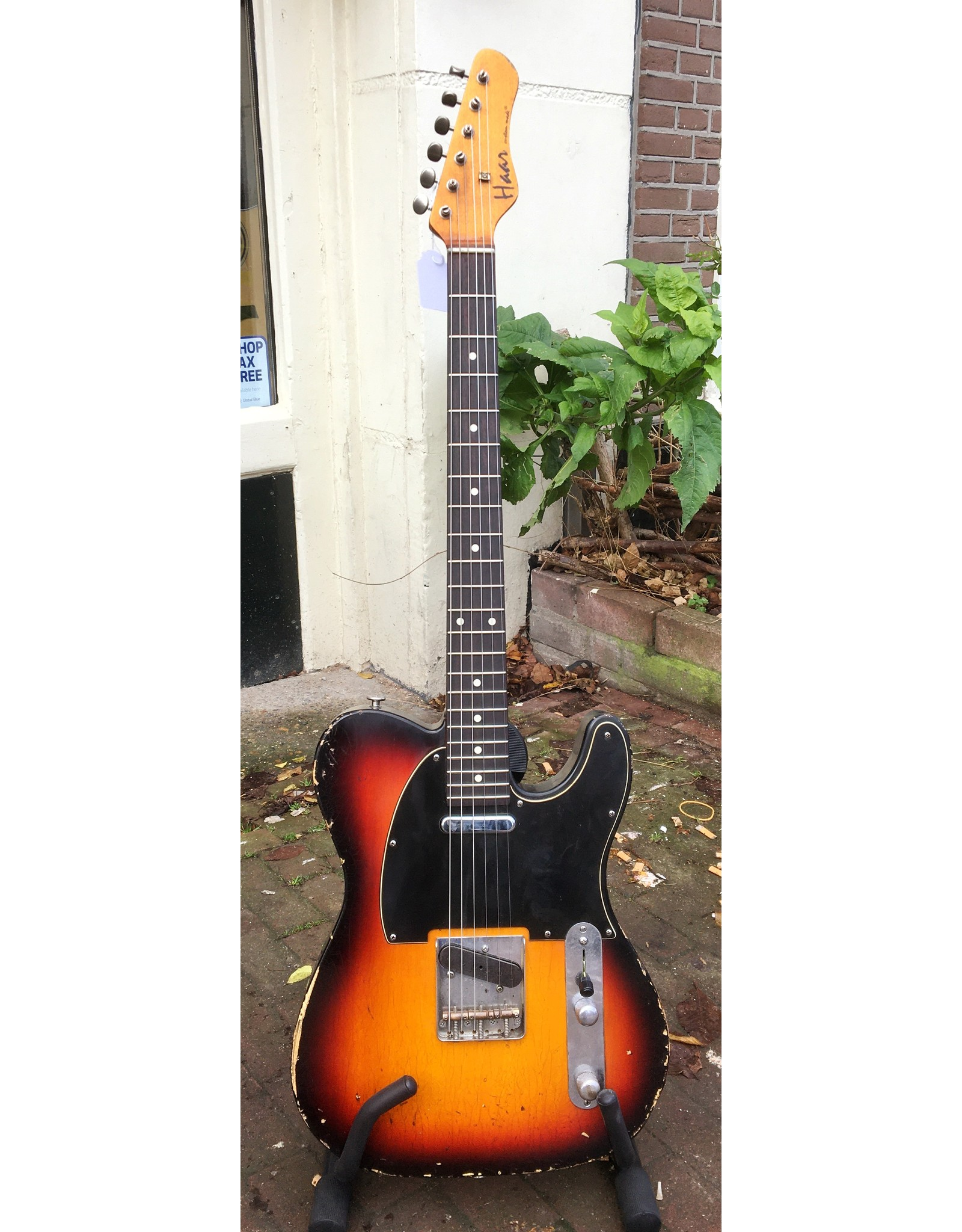 Haar Guitars Haar Traditional T 3 Tone Sunburst Rosewood Neck
