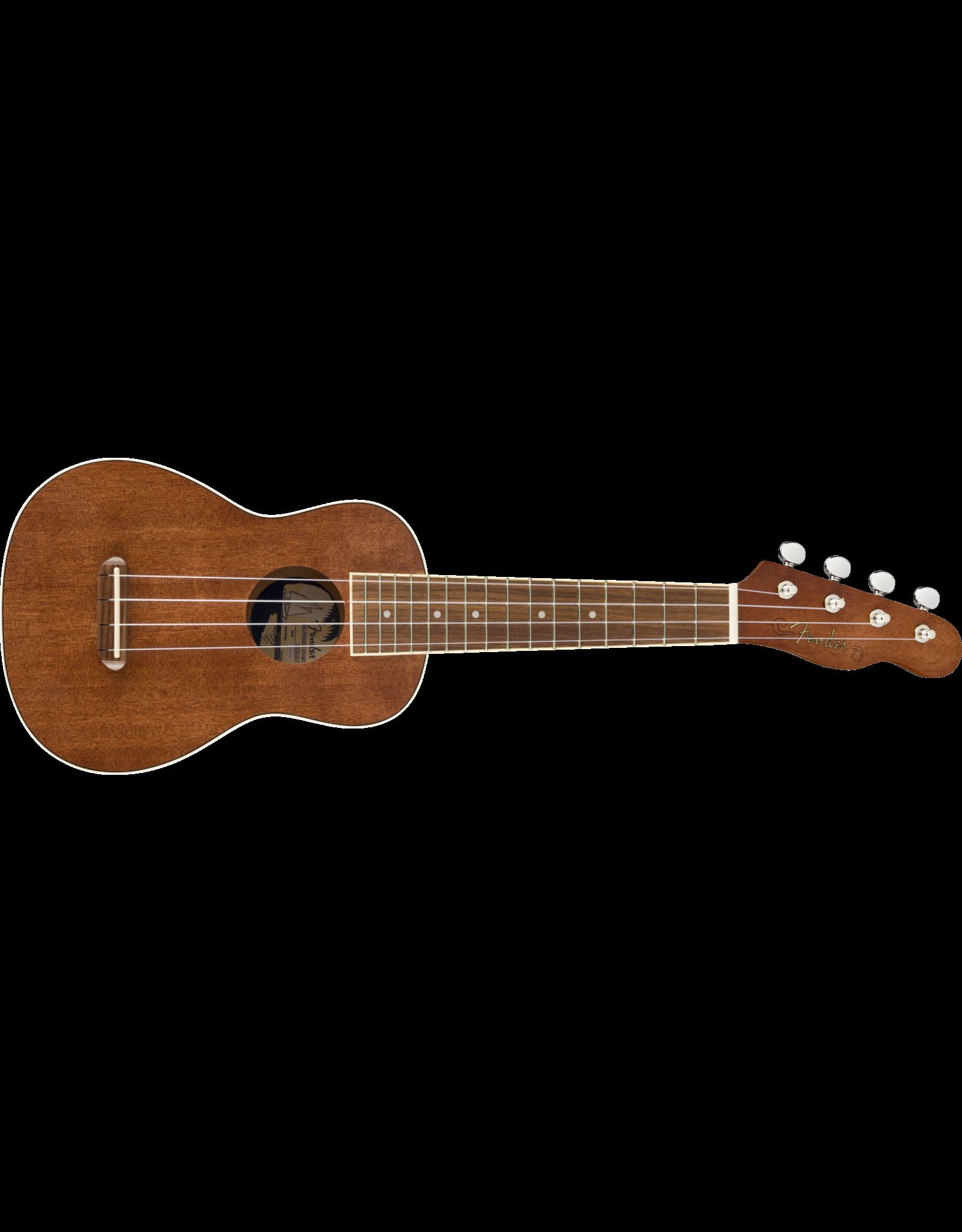 Fender Fender Seaside Sopraan Uke Pack