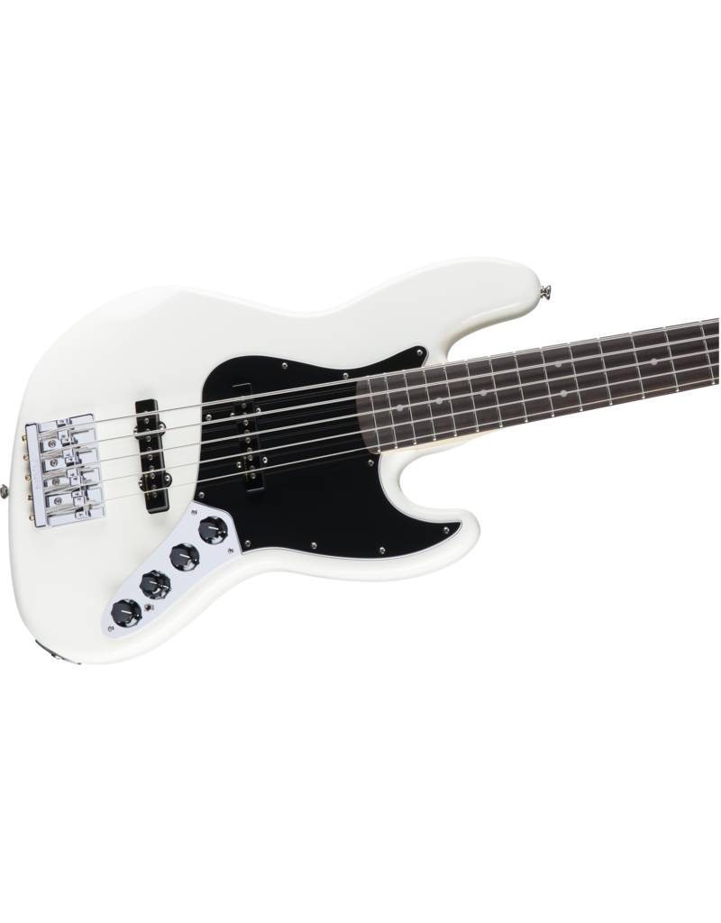 Fender Fender Active Jazz Bass V PF Olympic White