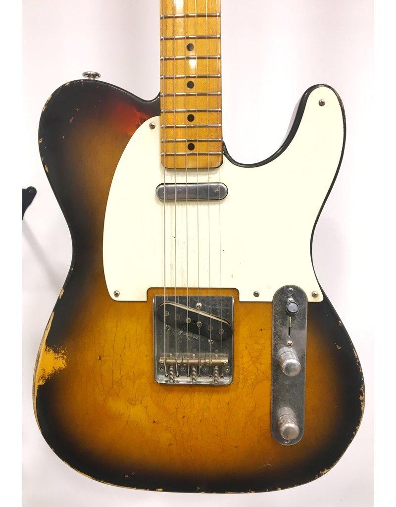 Haar Guitars Haar Traditional T 2 Tone Sunburst Maple Neck