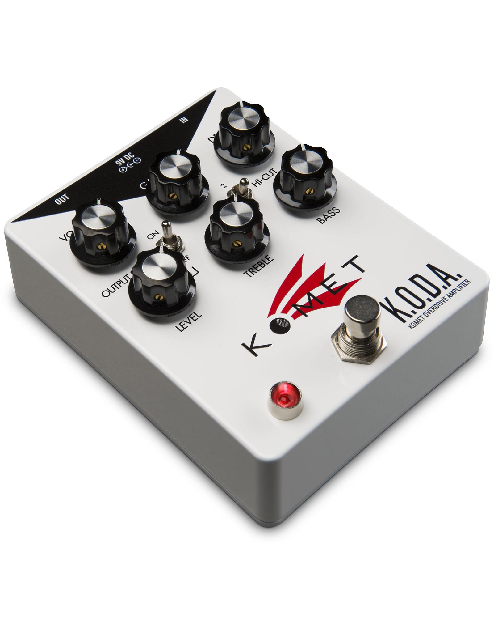 Komet Amps Komet K.O.D.A. Overdrive Amplifier pedal