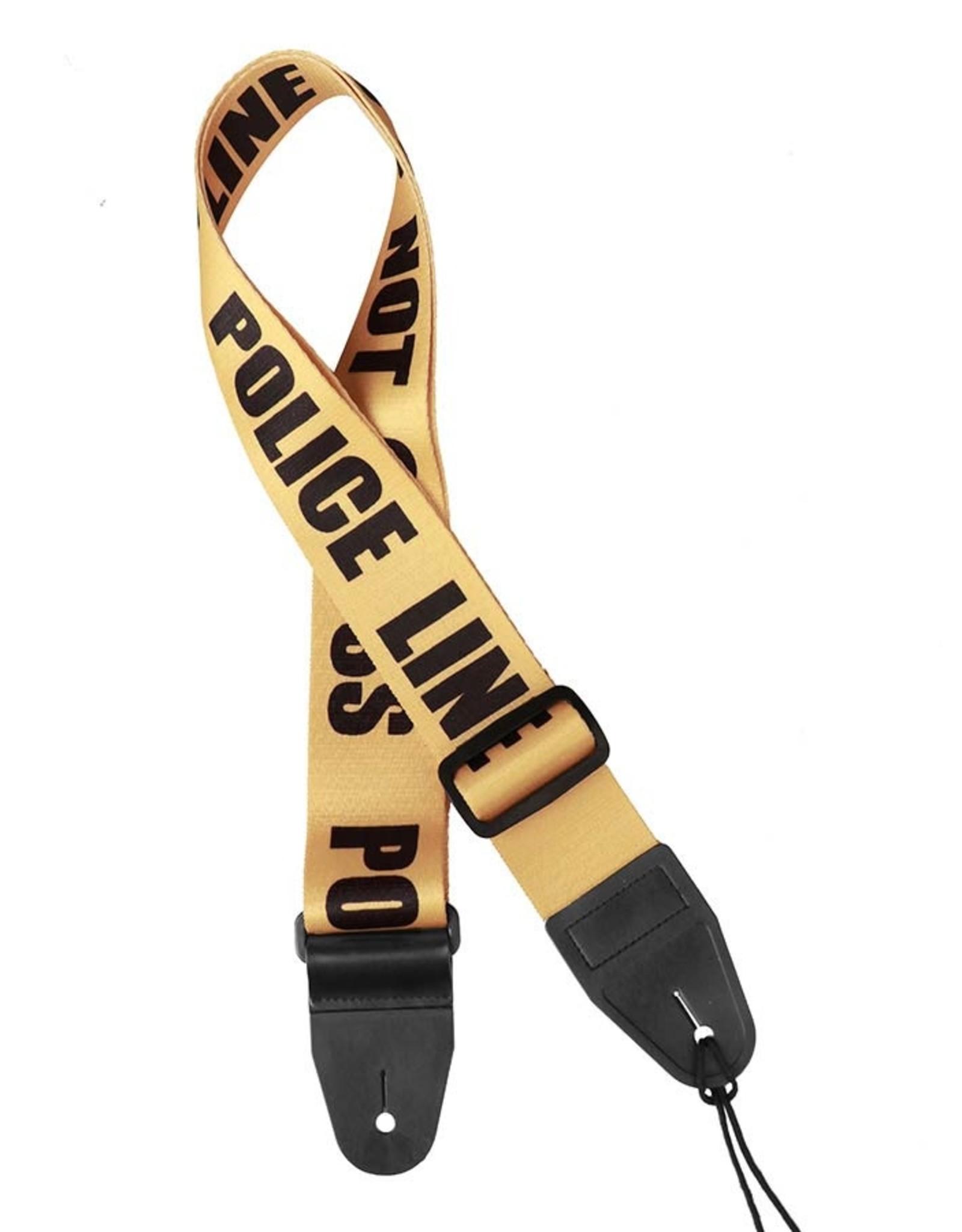 Gaucho Gaucho GST-160-PO police line do not cross guitar strap