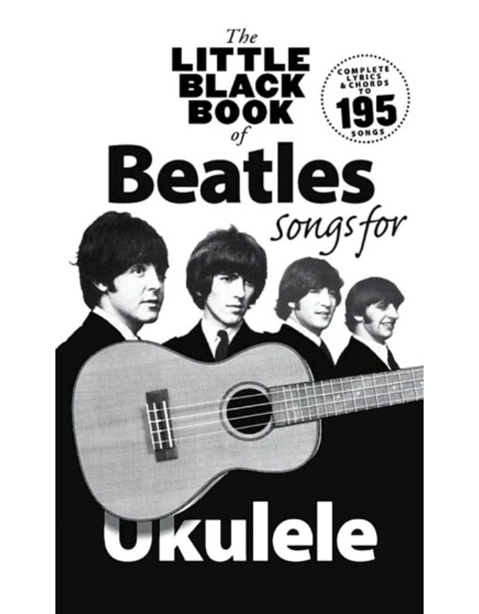 Little black songbook Beatles songs for ukulele